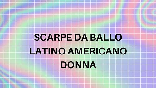 Scarpe da ballo latino americano Donna