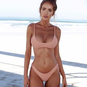 Bikini rosa 2 pezzi