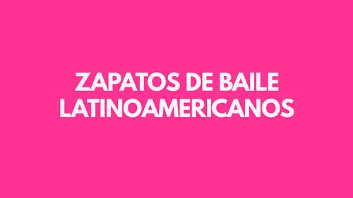 Zapatos de baile latinoamericanos